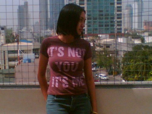 """""""It's not you, it's me"""" by Her Maldita-ness"""